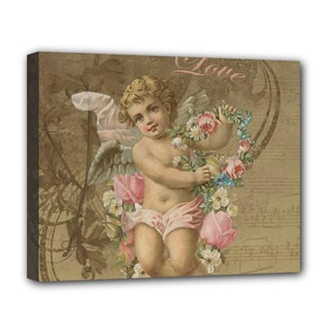 Cupid   Vintage Deluxe Canvas 20  X 16