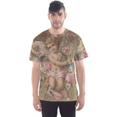 Cupid   Vintage Men s Sports Mesh Tee