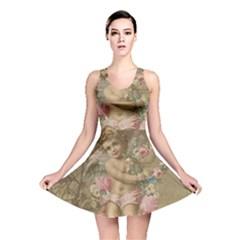 Cupid   Vintage Reversible Skater Dress