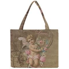 Cupid   Vintage Mini Tote Bag