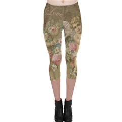 Cupid   Vintage Capri Leggings