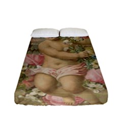 Cupid   Vintage Fitted Sheet (full/ Double Size)