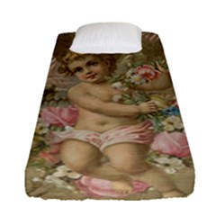 Cupid   Vintage Fitted Sheet (single Size)