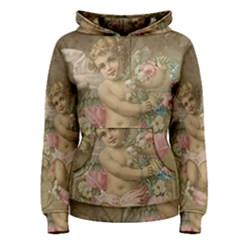 Cupid   Vintage Women s Pullover Hoodie