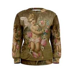 Cupid   Vintage Women s Sweatshirt