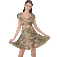 Cupid   Vintage Cap Sleeve Dress