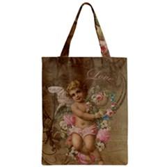 Cupid   Vintage Zipper Classic Tote Bag