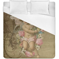 Cupid   Vintage Duvet Cover (king Size)