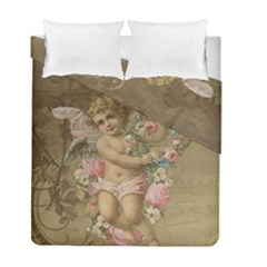 Cupid   Vintage Duvet Cover Double Side (full/ Double Size)