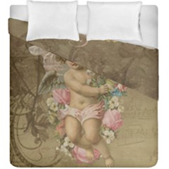 Cupid   Vintage Duvet Cover Double Side (king Size)