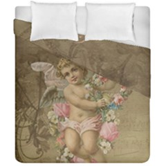 Cupid   Vintage Duvet Cover Double Side (california King Size)