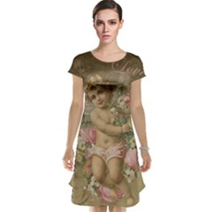 Cupid   Vintage Cap Sleeve Nightdress
