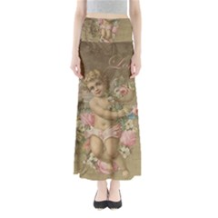 Cupid   Vintage Full Length Maxi Skirt