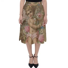 Cupid   Vintage Folding Skater Skirt