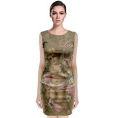 Cupid   Vintage Classic Sleeveless Midi Dress