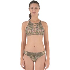 Cupid   Vintage Perfectly Cut Out Bikini Set