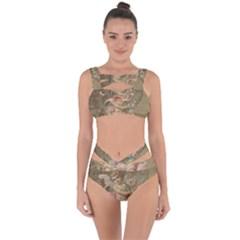 Cupid   Vintage Bandaged Up Bikini Set
