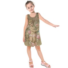 Cupid   Vintage Kids  Sleeveless Dress