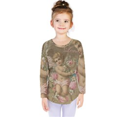 Cupid   Vintage Kids  Long Sleeve Tee