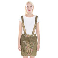 Cupid   Vintage Braces Suspender Skirt