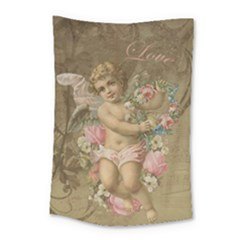 Cupid   Vintage Small Tapestry