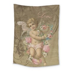 Cupid   Vintage Medium Tapestry