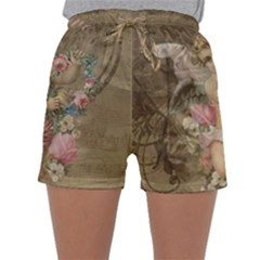 Cupid   Vintage Sleepwear Shorts