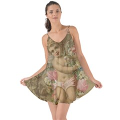 Cupid   Vintage Love The Sun Cover Up