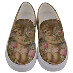 Cupid   Vintage Men s Canvas Slip Ons