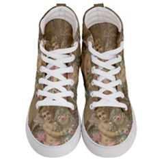 Cupid   Vintage Men s Hi Top Skate Sneakers