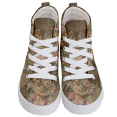 Cupid   Vintage Kid s Hi Top Skate Sneakers