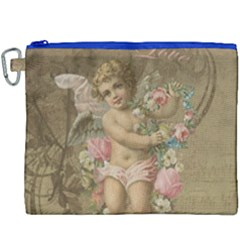 Cupid   Vintage Canvas Cosmetic Bag (xxxl)