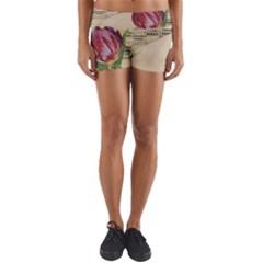 Tulip 1229027 1920 Yoga Shorts