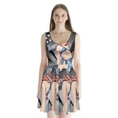 Retro 1265788 1920 Split Back Mini Dress
