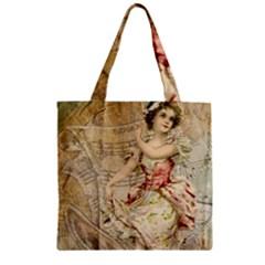 Fairy 1229009 1280 Zipper Grocery Tote Bag