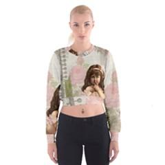 Vintage 1227585 1920 Cropped Sweatshirt