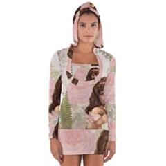 Vintage 1227585 1920 Long Sleeve Hooded T Shirt