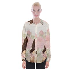 Vintage 1227585 1920 Womens Long Sleeve Shirt