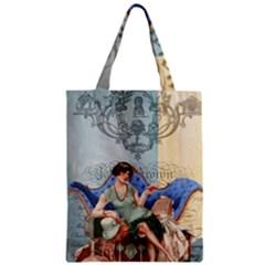 Vintage 1254696 1920 Zipper Classic Tote Bag