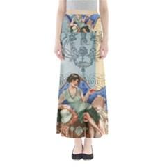 Vintage 1254696 1920 Full Length Maxi Skirt