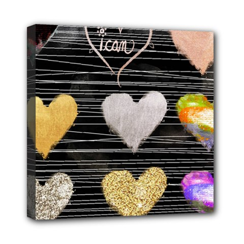 Modern Heart Pattern Multi Function Bag