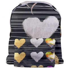 Modern Heart Pattern Giant Full Print Backpack