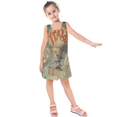 Vintage 1181673 1280 Kids  Sleeveless Dress