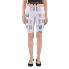 Adventure With Me Yoga Cropped Leggings