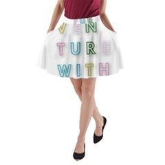 Adventure With Me A Line Pocket Skirt