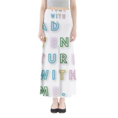 Adventure With Me Full Length Maxi Skirt