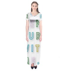 Adventure With Me Short Sleeve Maxi Dress
