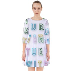 Adventure With Me Smock Dress
