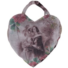 Vintage 1181680 1920 Giant Heart Shaped Tote