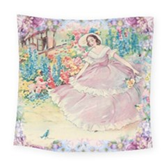 Vintage 1203865 1280 Square Tapestry (large)